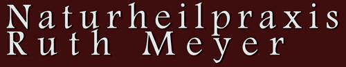 Naturheilpraxis Ruth Meyer Logo